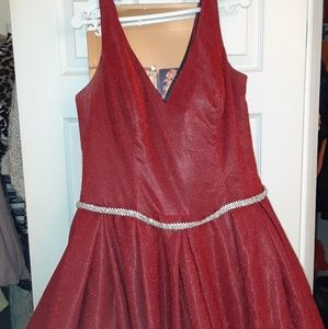 Very Elegant Red ball gown by dancing queen.